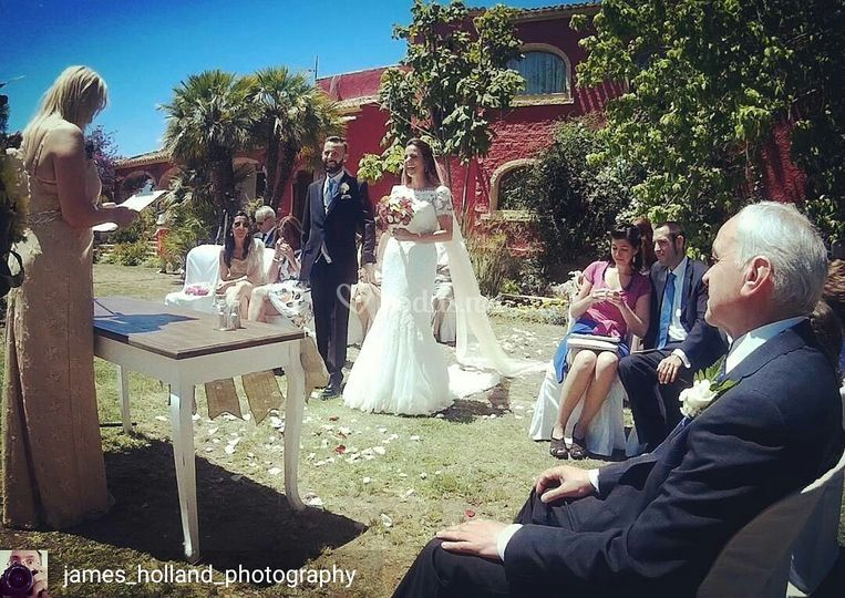 Ceremonia Clara Y DAvid