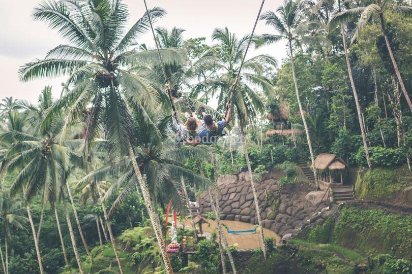 Viaje de novios selva