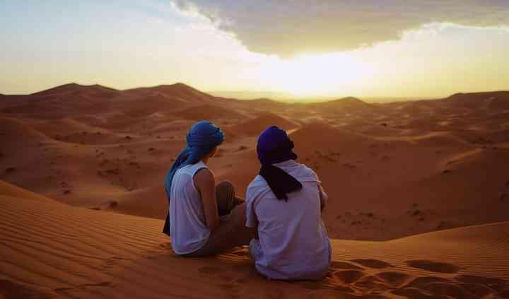 Viaje de novios desierto