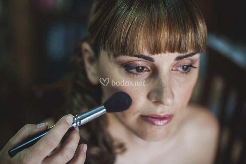 Maquillaje de novia aerógrafo