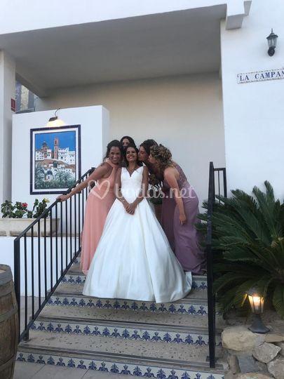 Damas de la novia