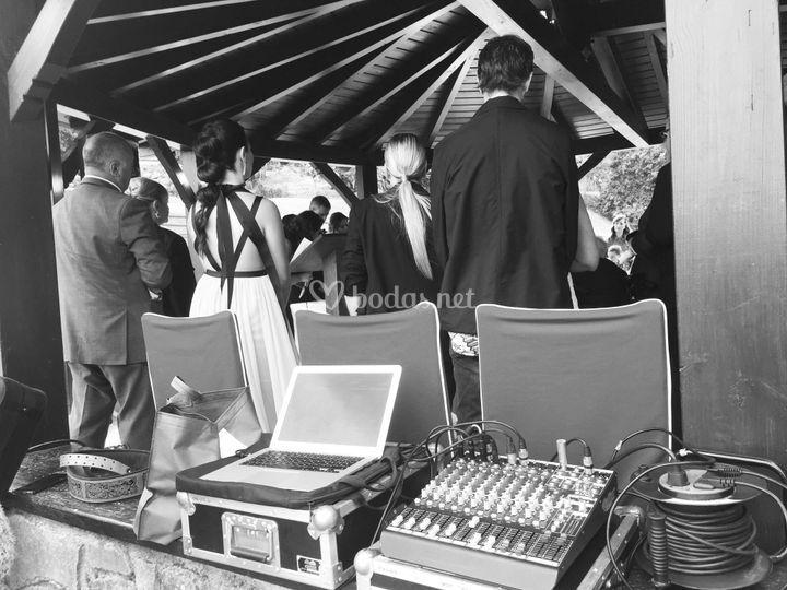 Megafonía ceremonia