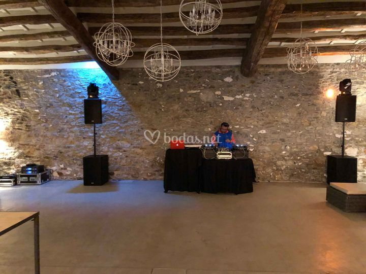 Sound check para evento privado