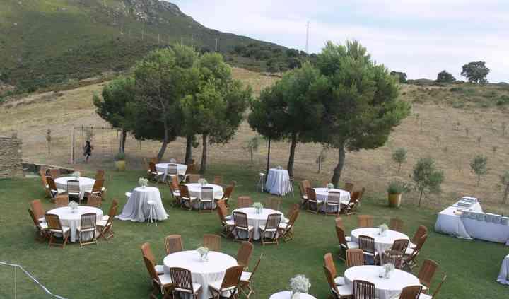 Jardín para banquete