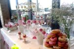 Mesa dulce vintage romántica