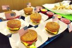 Cupcakes hamburguesa con patat