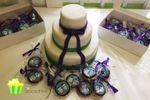 Tarta y galletas boda