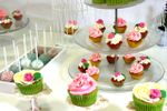 Detalle mesa dulce rosa