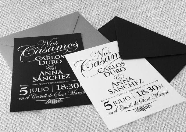 Invitaciones con estilo