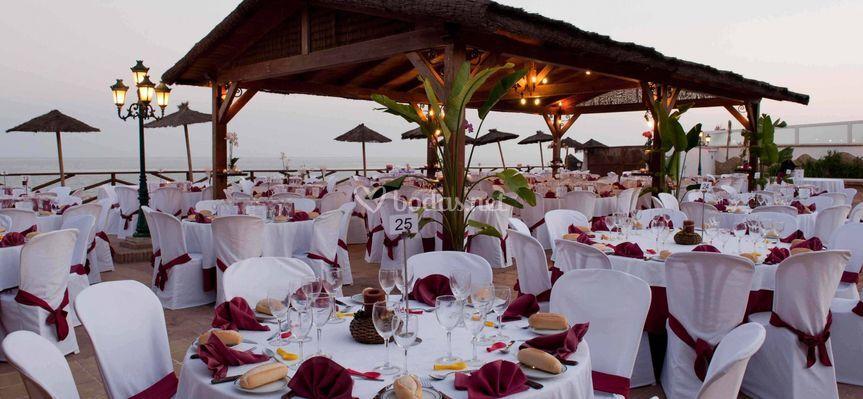 Catering para banquetes