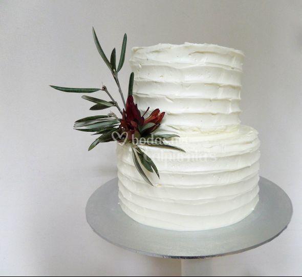 Layer cake con olivo
