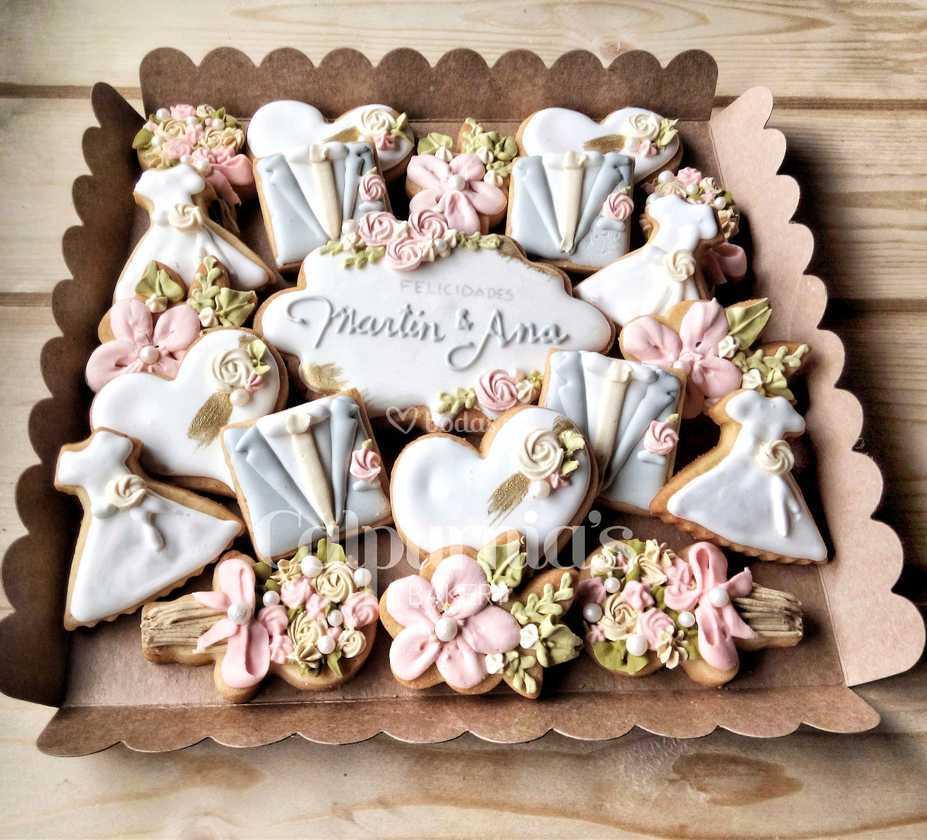 Galletas Decoradas Boda De Calpurnia S Bakery Foto 18