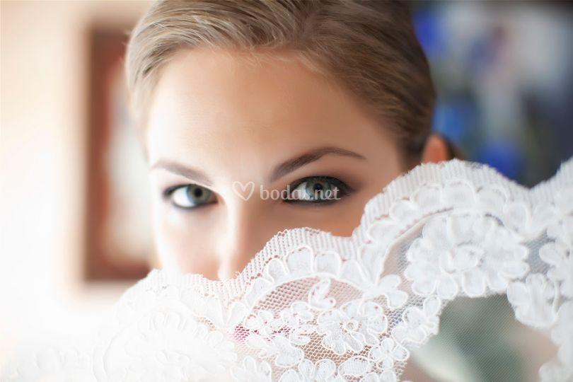 Ojos de Novia que enamoran