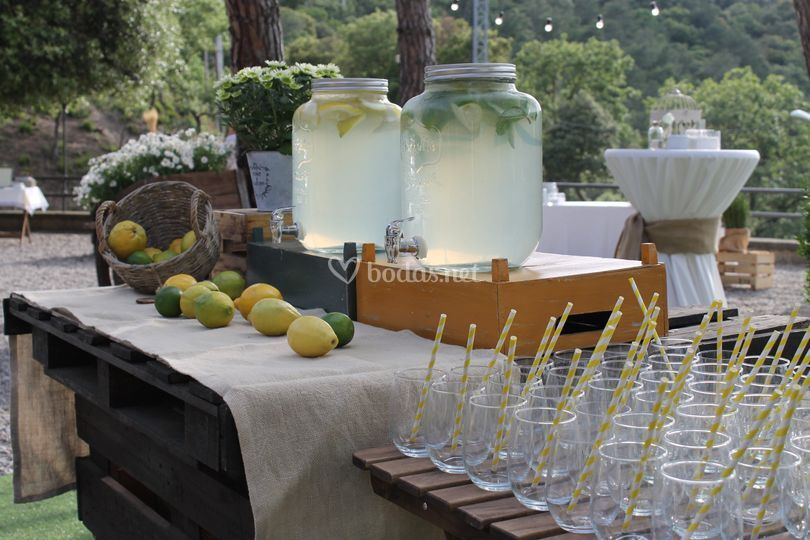 Buffet de limonada