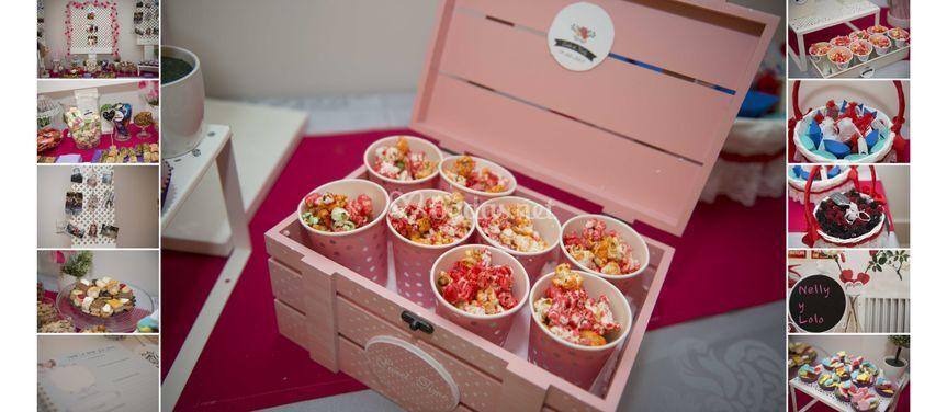 Detalles mesa dulces