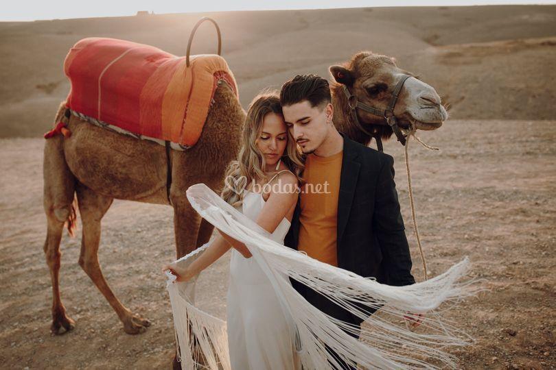 Preboda en Marruecos