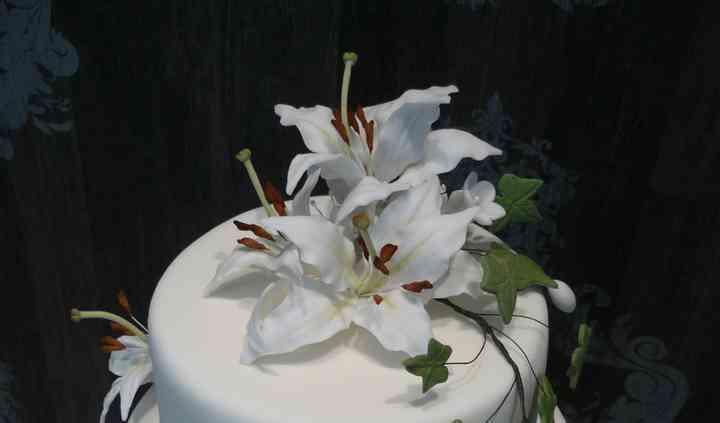 Flores modeladas
