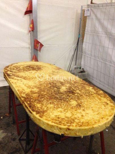 Tortillas gigantes