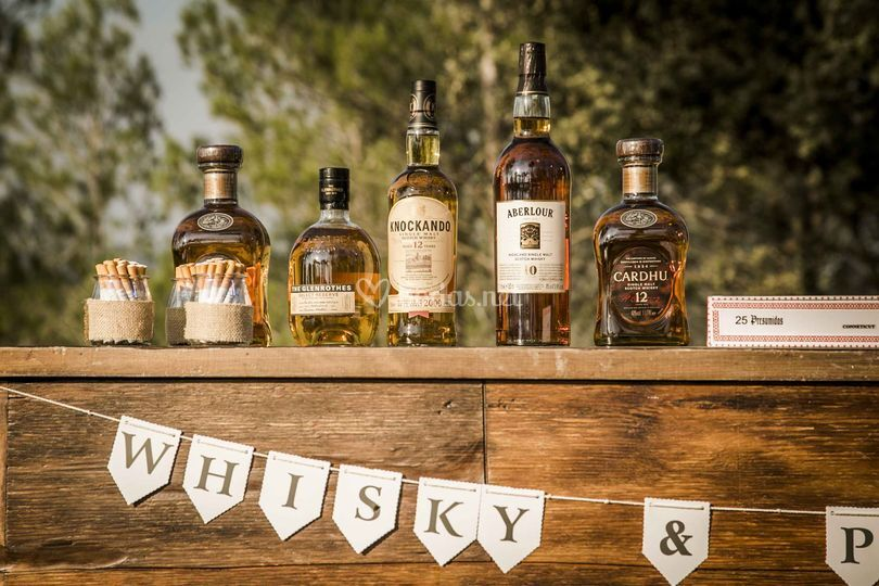 Rincón del novio - zona whisky