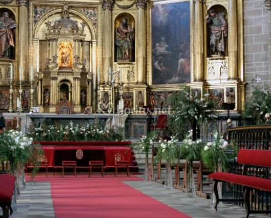 Decoración de iglesias