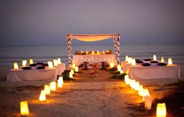 Boda en la playa de Events in Ibiza