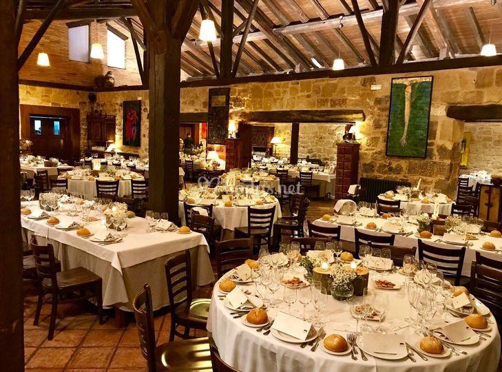 Salón - comedor de Restaurante La Vieja Bodega | Foto 35