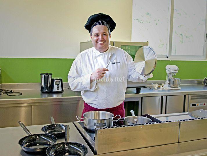 Pablo Arbesú. Uno de los chefs.