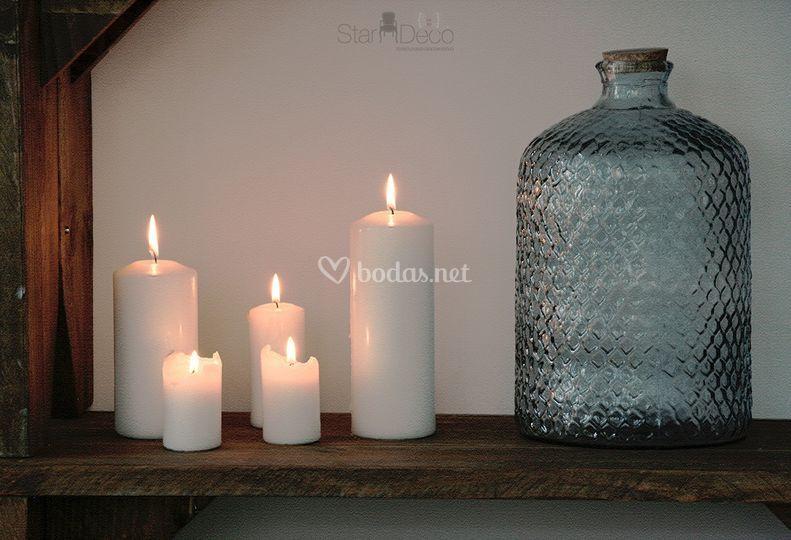 Carpa, mobiliario, iluminación