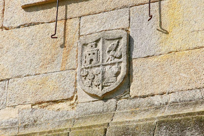 Detalle de un escudo