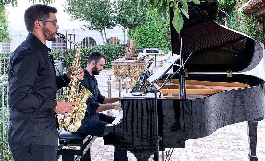 Saxo & piano