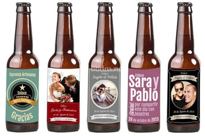 Cerveza artesana personalizada