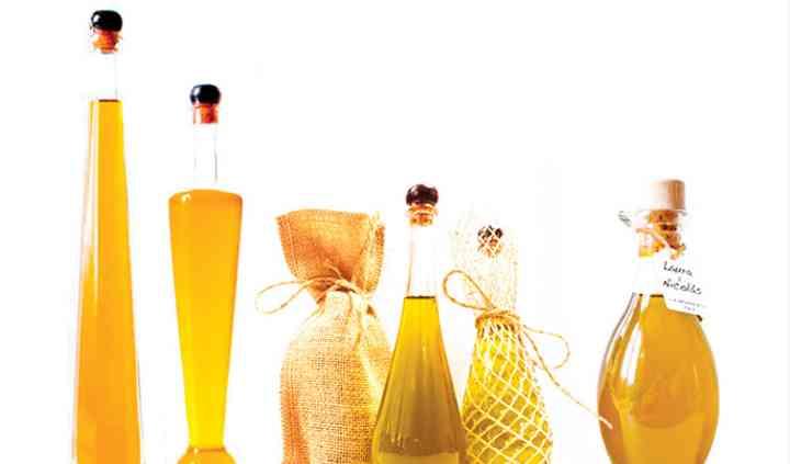 Miniaturas de aceite para bodas