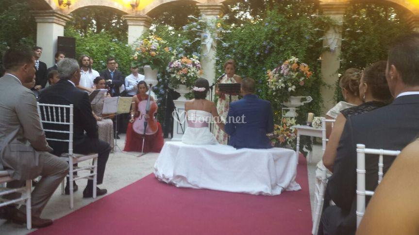 Ceremonia civil, Xamandreu