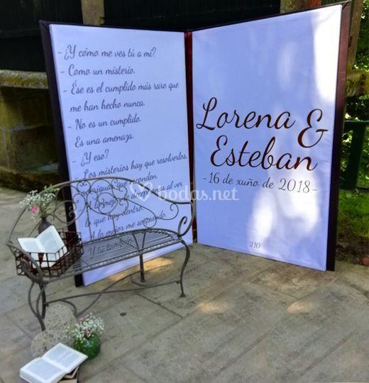 Photocall de libro