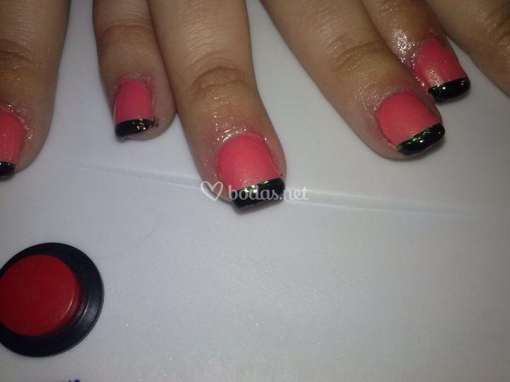 Manicura uñas de gel
