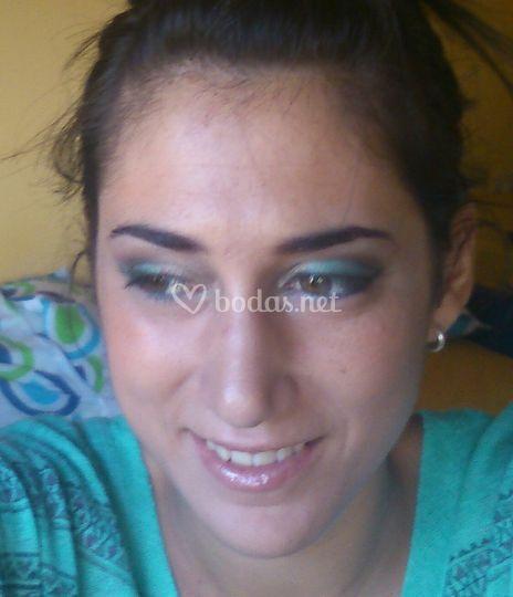 Maquillaje hermana de la novia