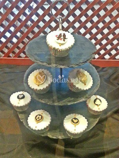 Cupcakes nupciales