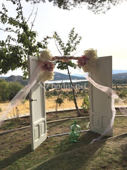 Puertas ceremonia