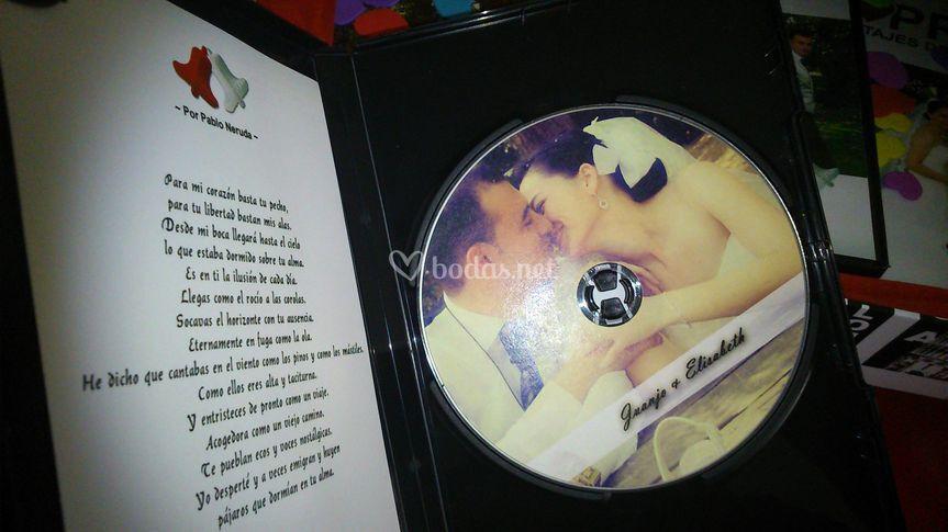 DVD con su poesía