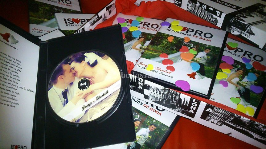 DVD con galleta personalizada