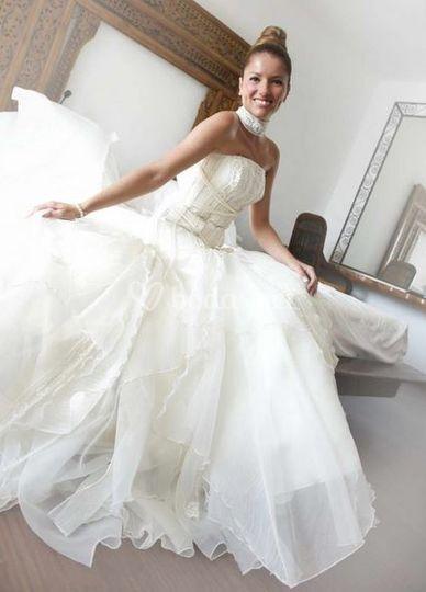 Un vestido de princesa