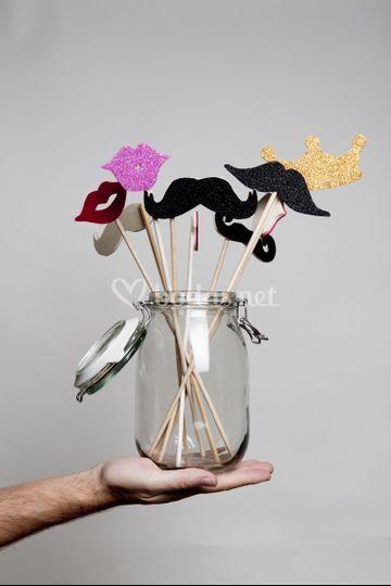 Set de accesorios artesanales