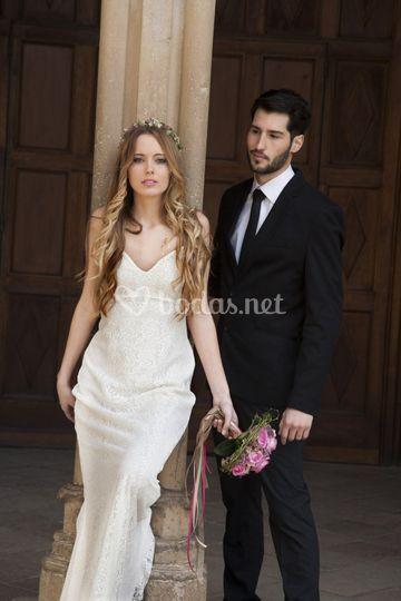 Claudia y David