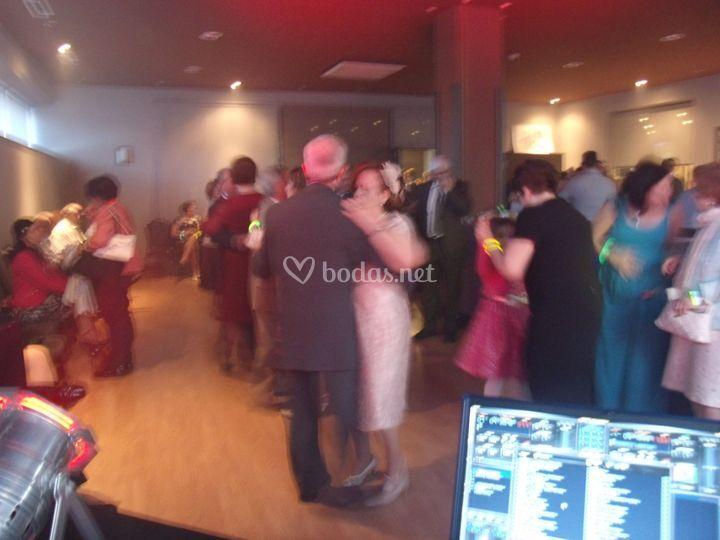 Bailes en la boda