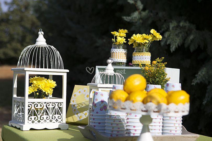 Mesas de limonada