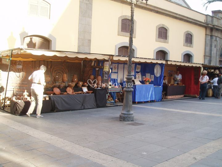 Kioscos artesanales