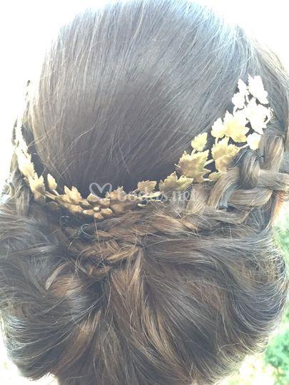 Detalle para el pelo