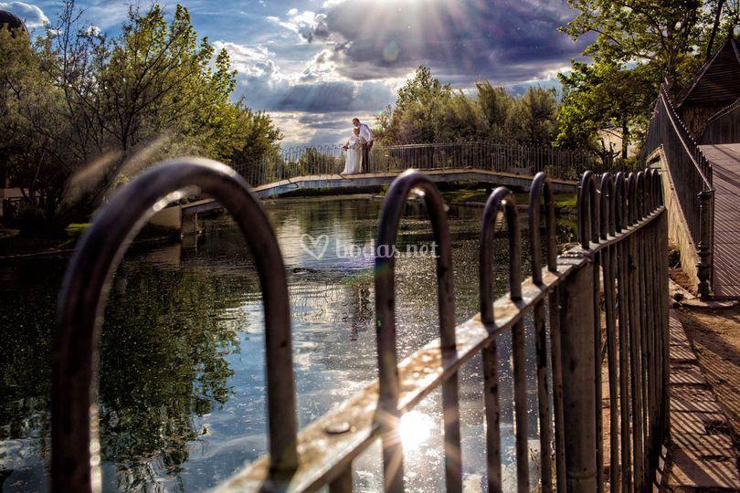 Lago de alhama de Aragón