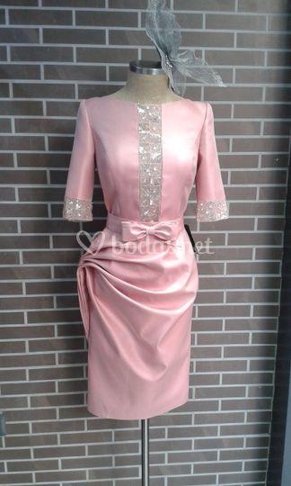 Vestido de madrina corto
