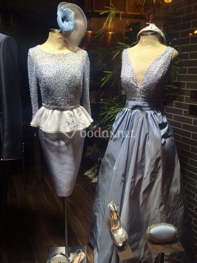 vestidos de fiesta y madrina de cristina mañes | foto 9